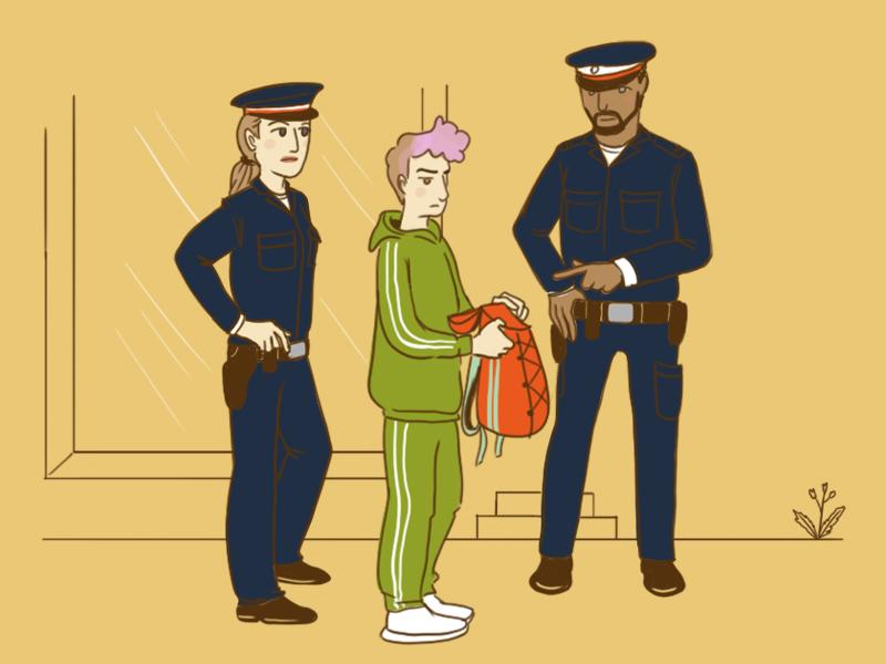 Kenn' dein Recht: Bei der Polizei