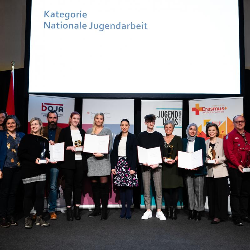 Jugendpreis Nationale Jugendarbeit GewinnerInnen