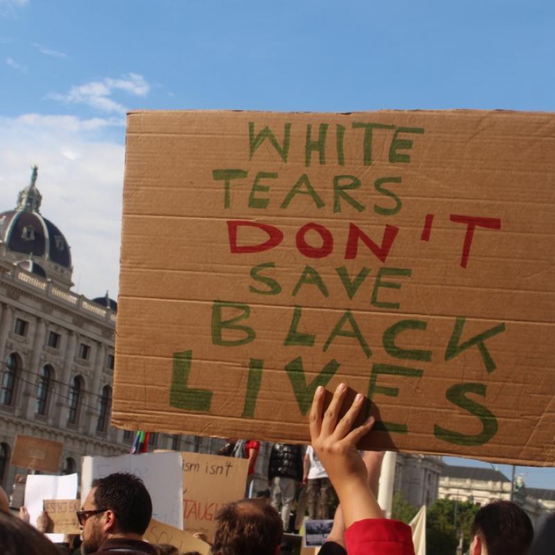 Black Lives Matter Demo Wien