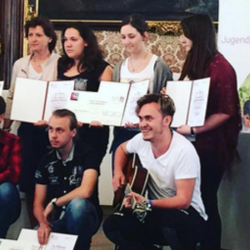 GewinnerInnen Bundesjugendredewettbewerb 2016