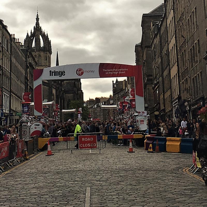 Fringe in Edinburgh
