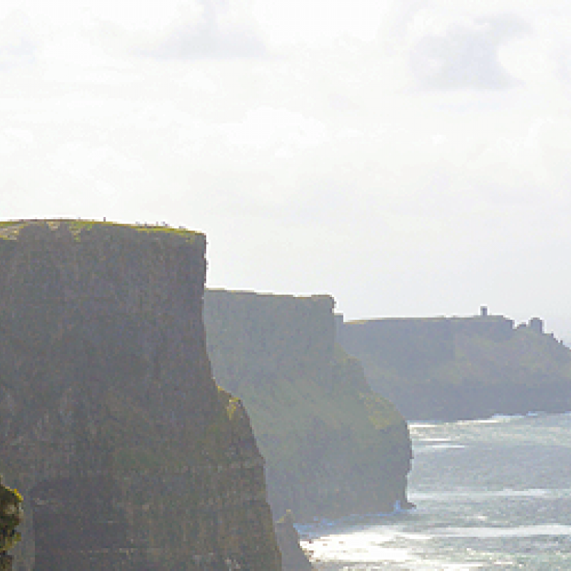 The Cliffs of Moher - Klippen und Meer