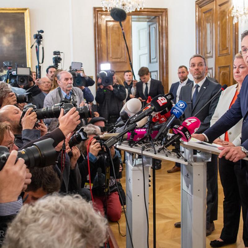 HC Strache Rücktrittsrede