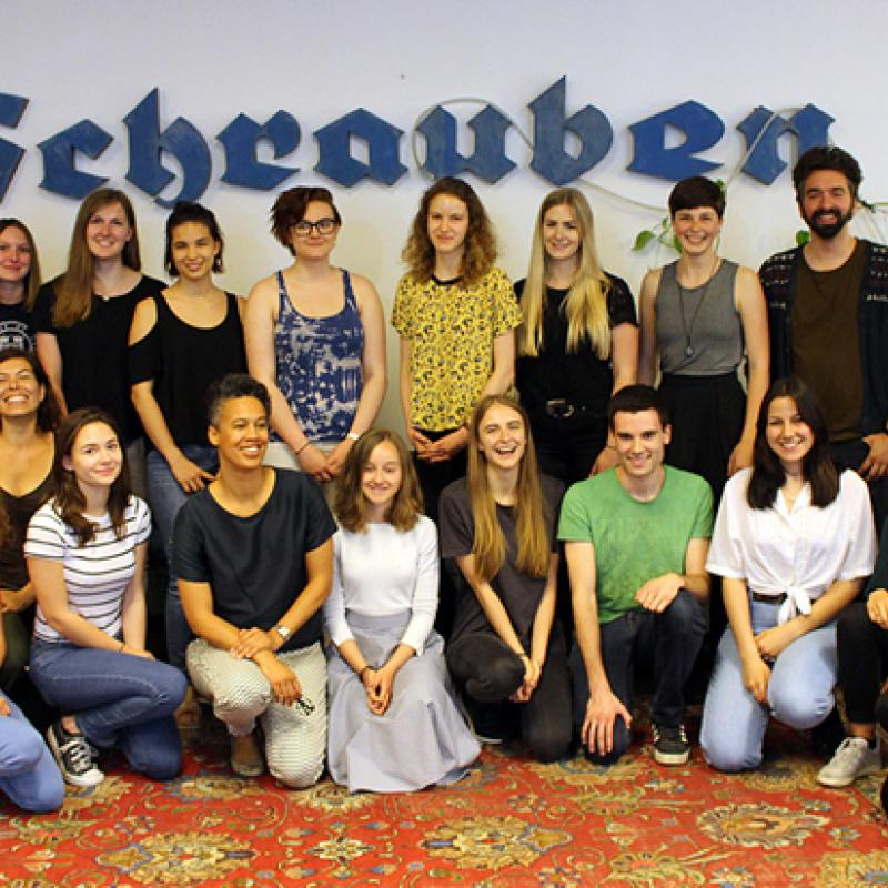 Gruppenfoto aller Youth Reporter