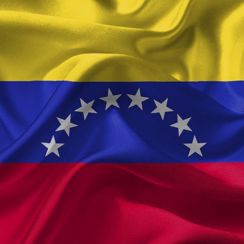 Flagge von Venezuela