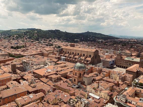 Bologna: Aussicht vom Torre Asinelli