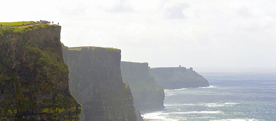 The Cliffs of Moher - Klippen und Meer