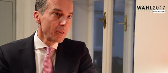 Bundeskanzler Christian Kern von der SPÖ