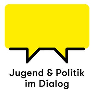 Logo - gelbe Sprechblase