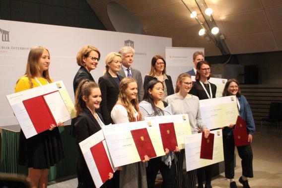 GewinnerInnen Jugendredewettbewerb 2019
