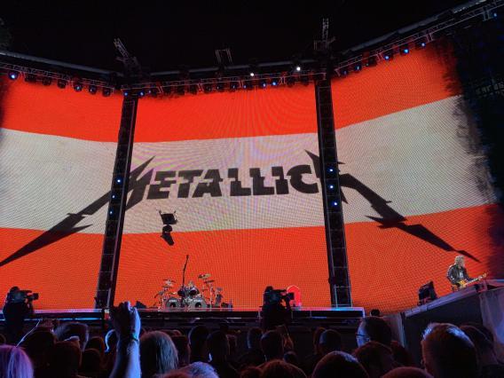 Metallica in Wien