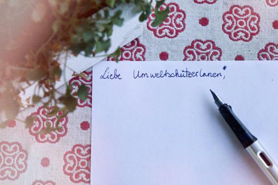 Brief Umwelt