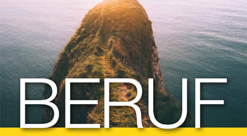 """Cover der Broschüre mit Titel """"Beruf"""""""