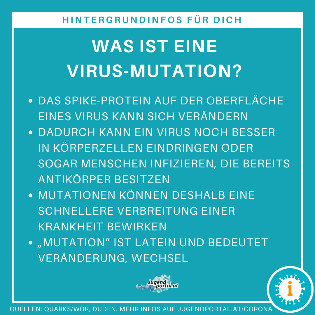 was ist eine virus-mutation? jugendportal.at
